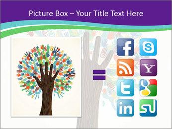 Tree hands PowerPoint Template - Slide 21