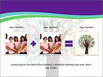 Tree hands PowerPoint Template - Slide 22