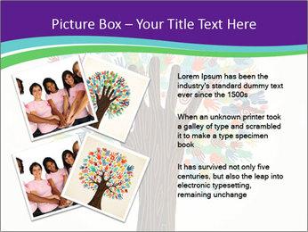 Tree hands PowerPoint Template - Slide 23