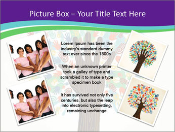 Tree hands PowerPoint Template - Slide 24