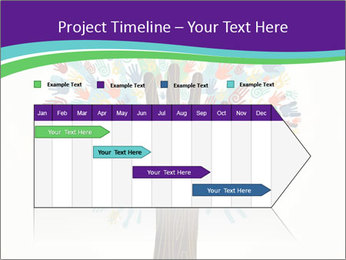 Tree hands PowerPoint Template - Slide 25
