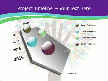 Tree hands PowerPoint Template - Slide 26