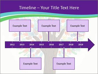Tree hands PowerPoint Template - Slide 28