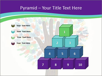 Tree hands PowerPoint Template - Slide 31