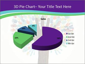 Tree hands PowerPoint Template - Slide 35