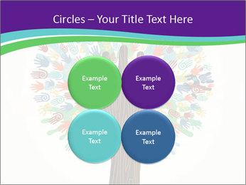 Tree hands PowerPoint Template - Slide 38