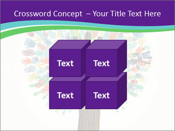 Tree hands PowerPoint Template - Slide 39
