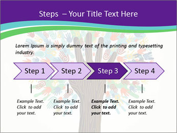 Tree hands PowerPoint Template - Slide 4