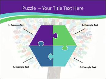 Tree hands PowerPoint Template - Slide 40