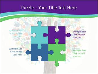 Tree hands PowerPoint Template - Slide 43