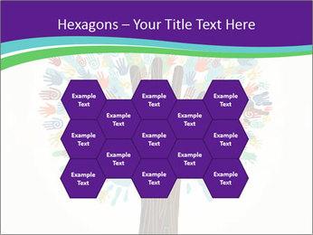 Tree hands PowerPoint Template - Slide 44