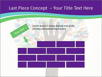 Tree hands PowerPoint Template - Slide 46