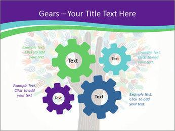 Tree hands PowerPoint Template - Slide 47