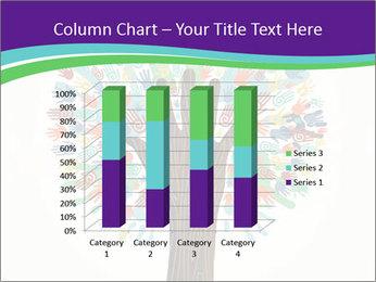 Tree hands PowerPoint Template - Slide 50