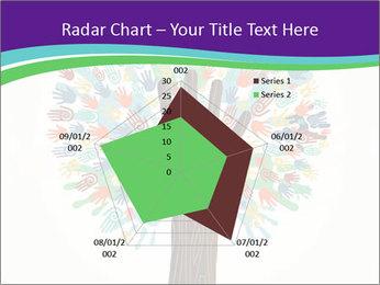 Tree hands PowerPoint Template - Slide 51