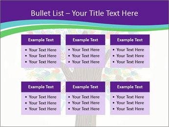 Tree hands PowerPoint Template - Slide 56