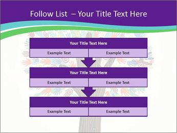 Tree hands PowerPoint Template - Slide 60