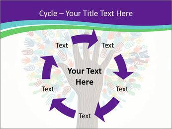 Tree hands PowerPoint Template - Slide 62