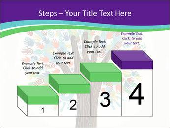 Tree hands PowerPoint Template - Slide 64