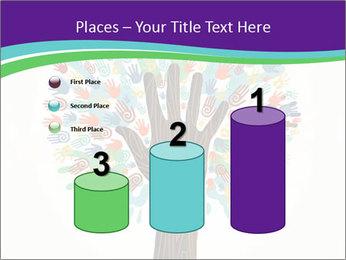 Tree hands PowerPoint Template - Slide 65