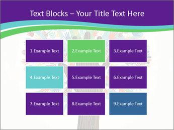 Tree hands PowerPoint Template - Slide 68