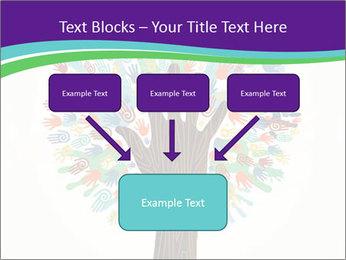 Tree hands PowerPoint Template - Slide 70