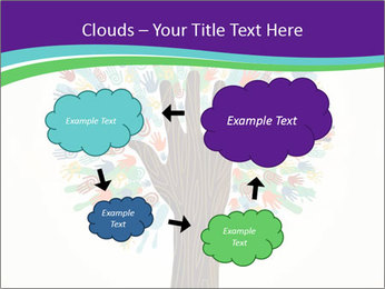Tree hands PowerPoint Template - Slide 72