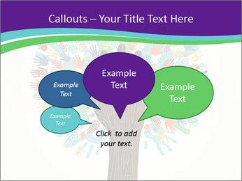 Tree hands PowerPoint Template - Slide 73
