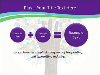 Tree hands PowerPoint Template - Slide 75