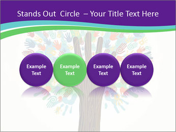 Tree hands PowerPoint Template - Slide 76