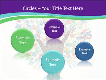 Tree hands PowerPoint Template - Slide 77