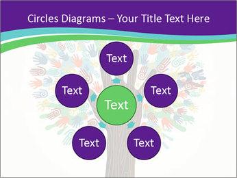 Tree hands PowerPoint Template - Slide 78