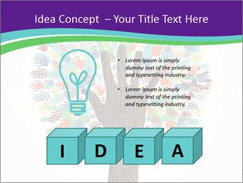 Tree hands PowerPoint Template - Slide 80