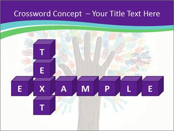 Tree hands PowerPoint Template - Slide 82