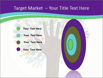 Tree hands PowerPoint Template - Slide 84