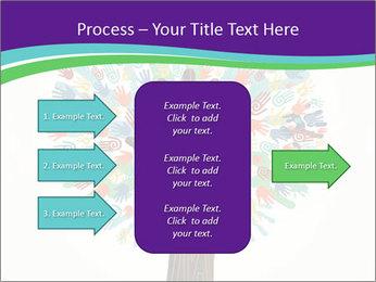 Tree hands PowerPoint Template - Slide 85