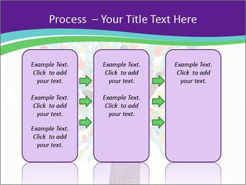 Tree hands PowerPoint Template - Slide 86