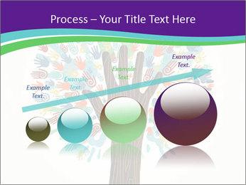 Tree hands PowerPoint Template - Slide 87