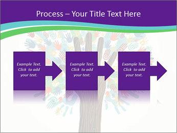Tree hands PowerPoint Template - Slide 88