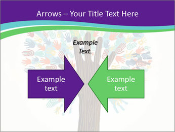 Tree hands PowerPoint Template - Slide 90