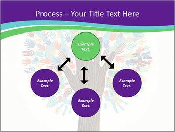 Tree hands PowerPoint Template - Slide 91