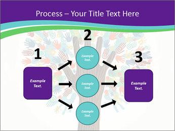 Tree hands PowerPoint Template - Slide 92