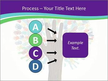 Tree hands PowerPoint Template - Slide 94