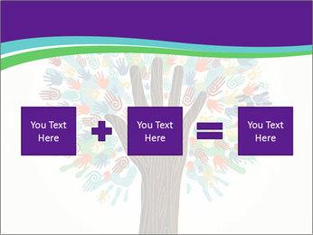 Tree hands PowerPoint Template - Slide 95