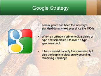 A colorful orange pumpkin PowerPoint Template - Slide 10