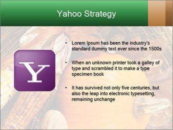 A colorful orange pumpkin PowerPoint Template - Slide 11