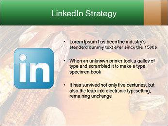 A colorful orange pumpkin PowerPoint Template - Slide 12
