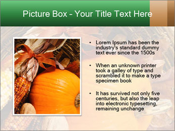 A colorful orange pumpkin PowerPoint Template - Slide 13