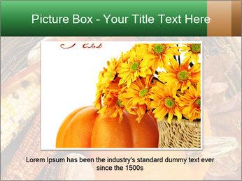 A colorful orange pumpkin PowerPoint Template - Slide 15