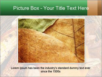 A colorful orange pumpkin PowerPoint Template - Slide 16